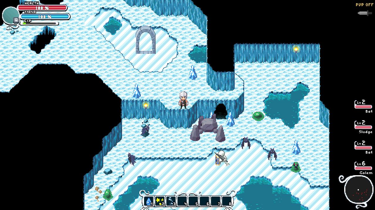 Steam Greenlight :: Severed World: Pixel Art MMORPG - PC