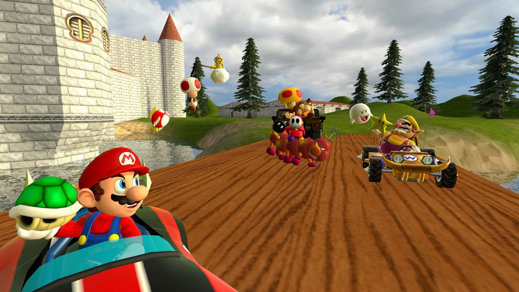 Steam Workshop Gmod Mario Kart