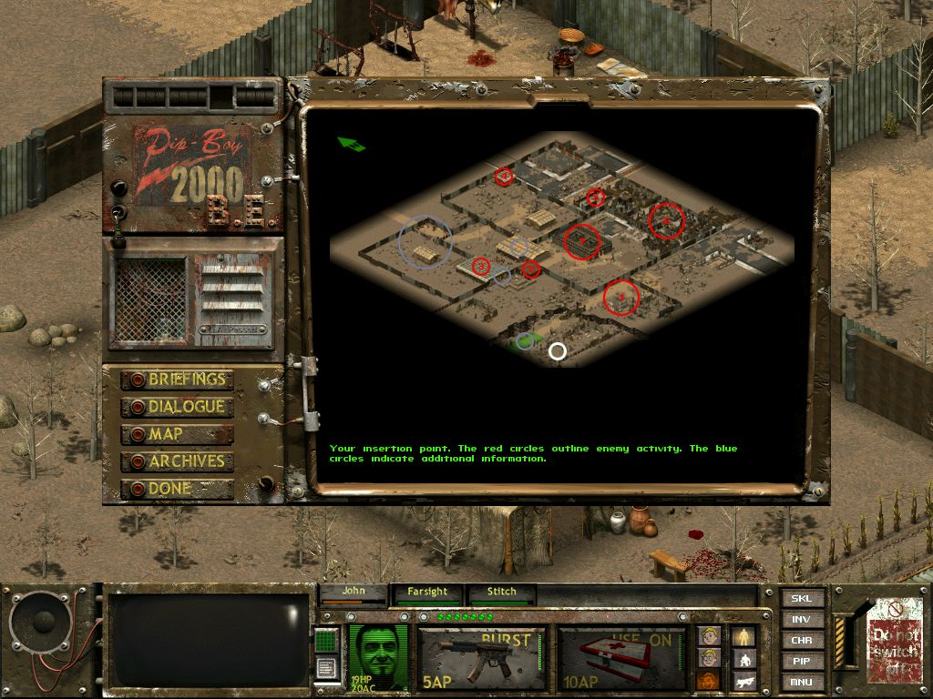 Steam Community Guide Fallout Tactics Beginner Mission Upsilon Circuit Is One Part Game Show Video And All 1 There Are Raiders In This Area 2 Find The Key To Continue 3there A Raider Building