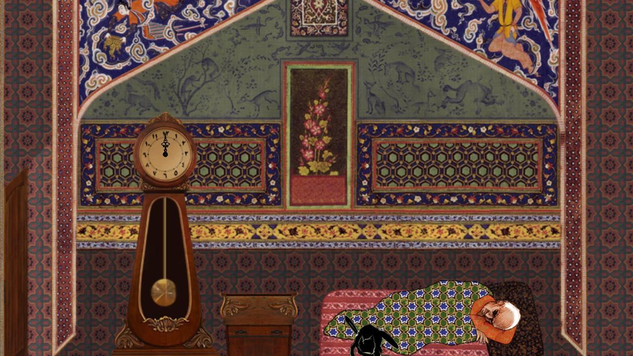 Steam Community Screenshot ドキュメンタリービデオゲームの隠れた豹いやネコ Cat And The Curp イランの元首相 モハンマド モサッデクを通した中東の動乱を ハリースミスから まどマギ イヌカレーが行うコラージュアニメの手法で描く