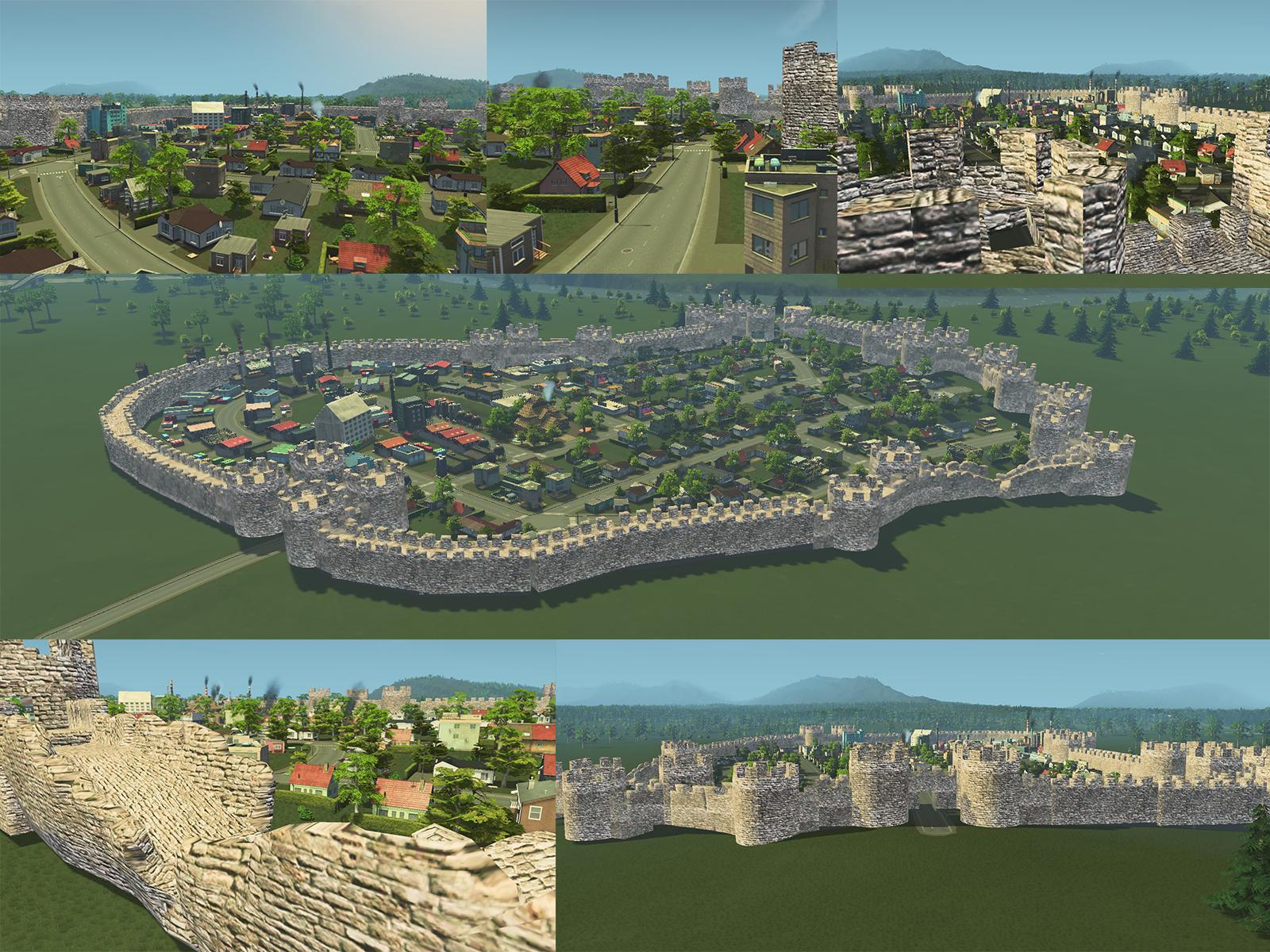 Steam Workshop :: Medieval Skyline