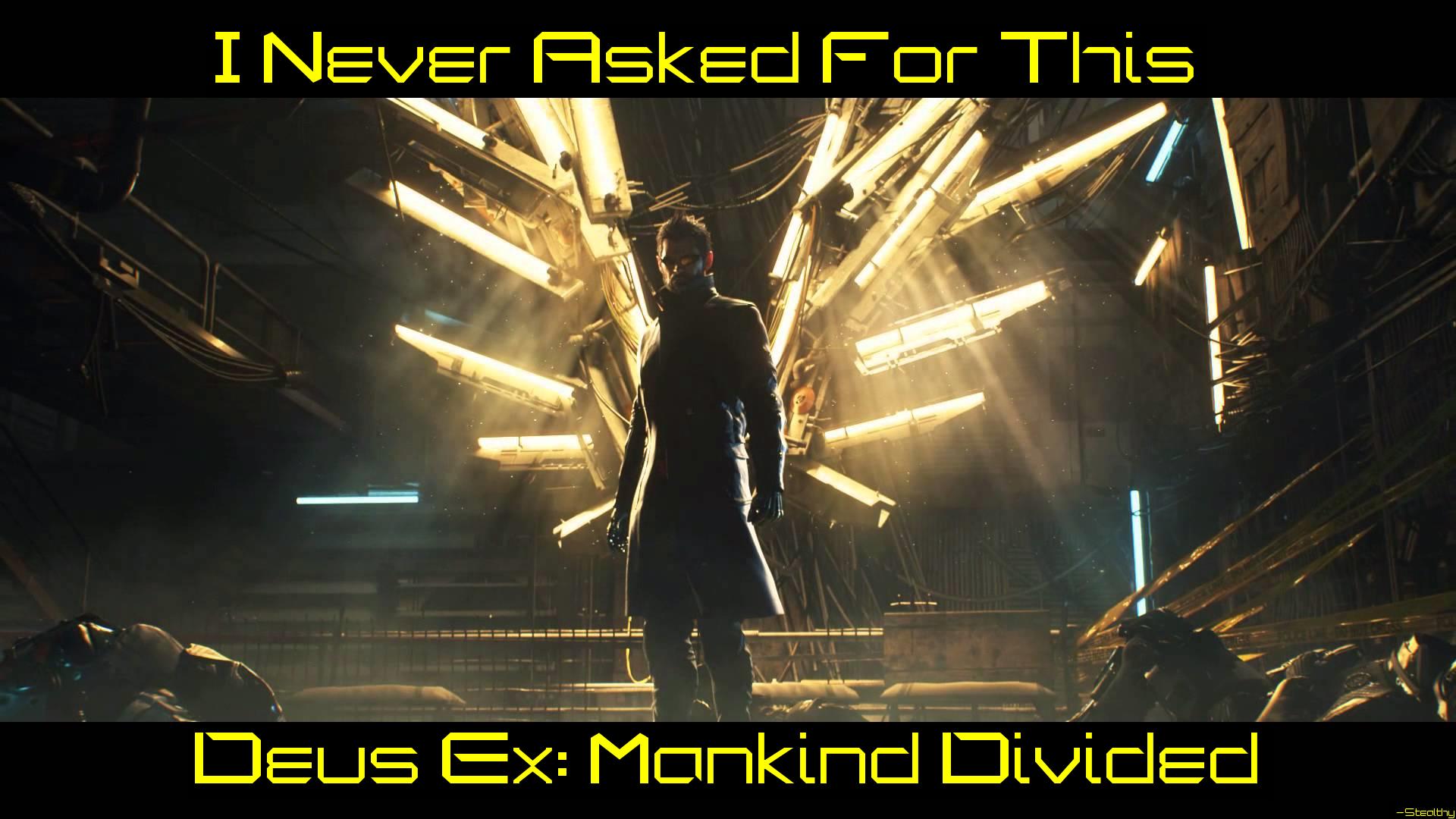 Steam Community Deus Ex Mankind Divided Wallpaper