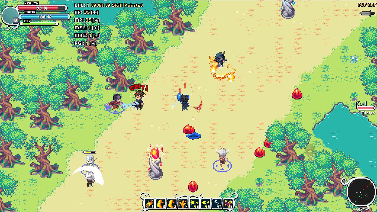 Steam Greenlight :: Severed World: Pixel Art MMORPG - PC & Mobile Game