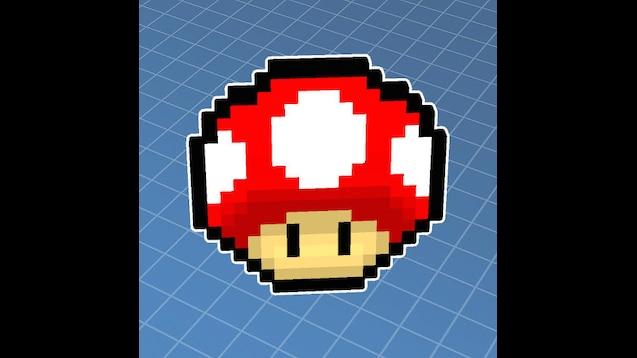 Steam Workshop Mario Mushroom Pixel Art