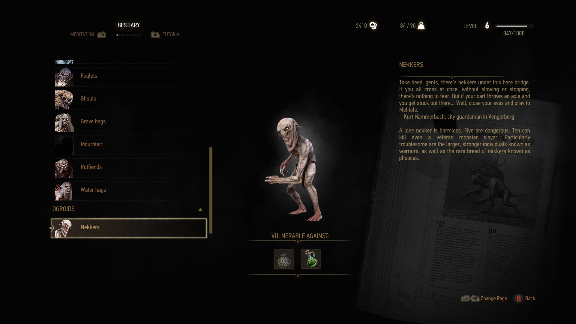 Witcher  Selling Crafting Items