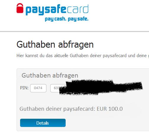 paysafecard guthaben abrufen