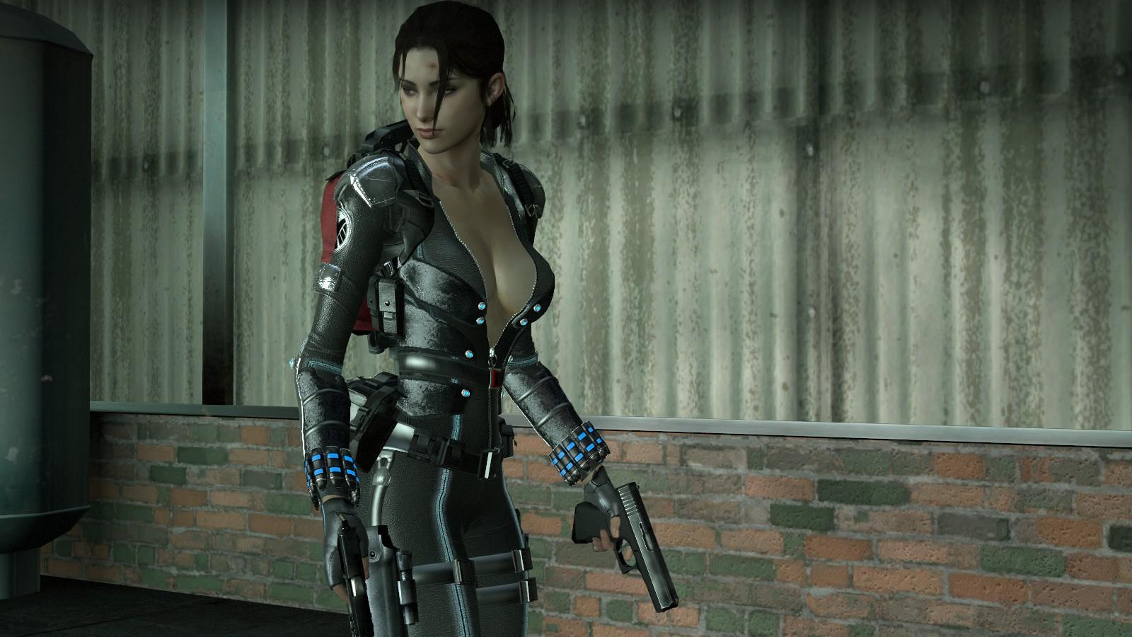 Steam Workshop :: Secret Agent Zoey (Armored)