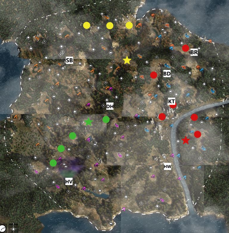 Steam Community :: Guide :: Small Game Locations on