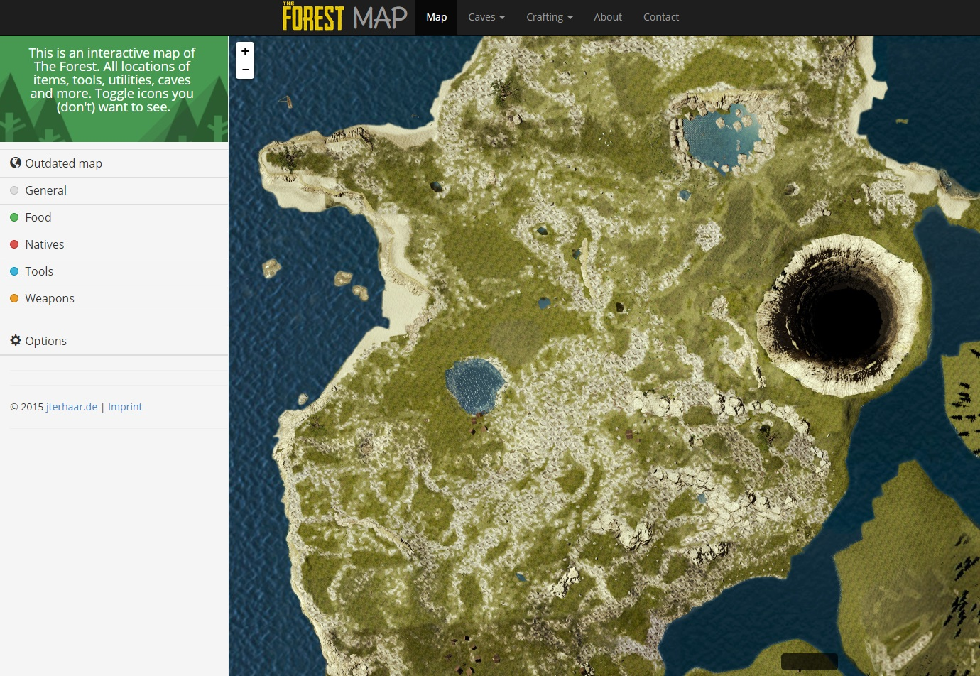 Steam community guide interactive the forest map sciox Gallery