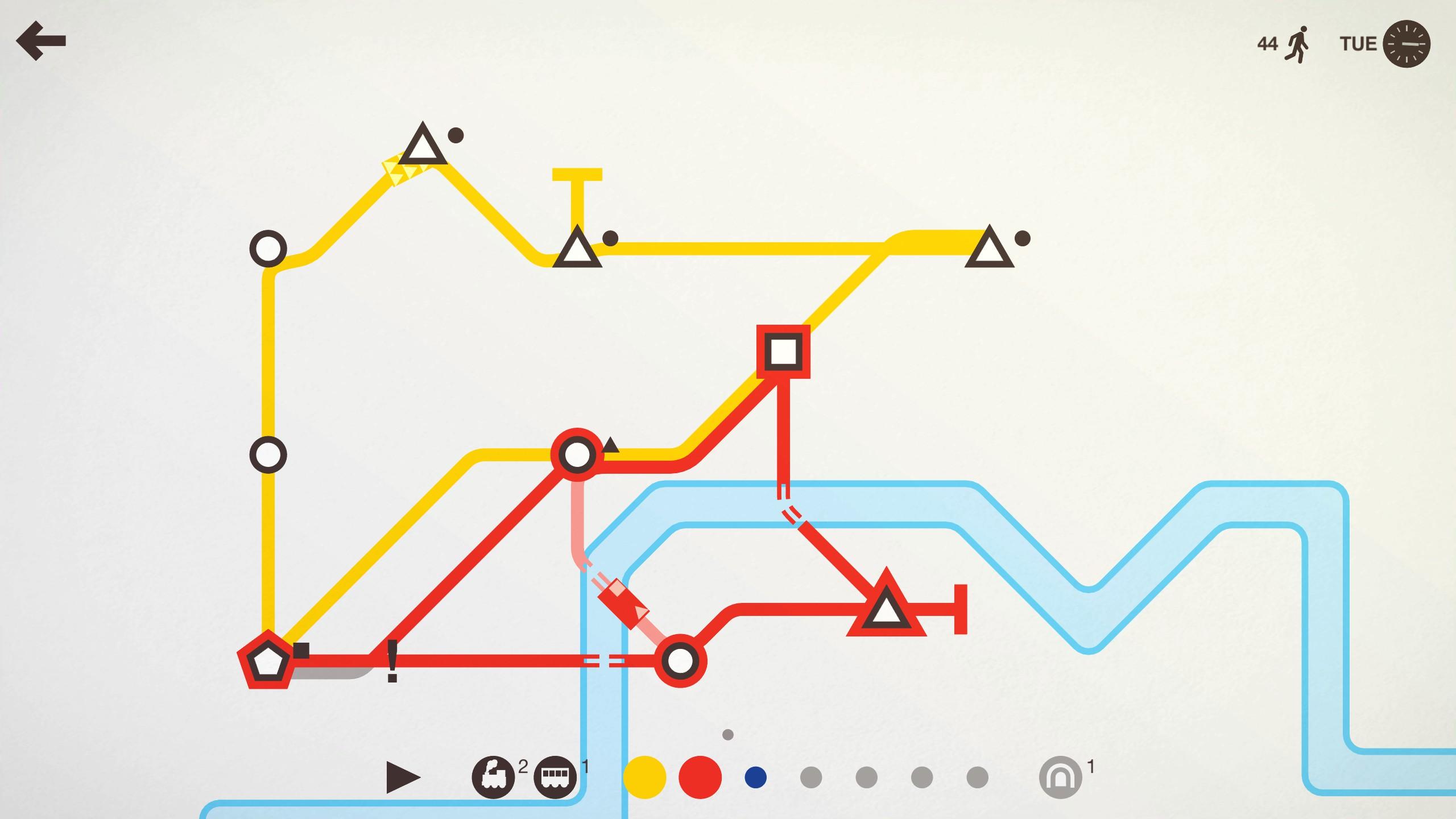 mini metro how to delete tracks