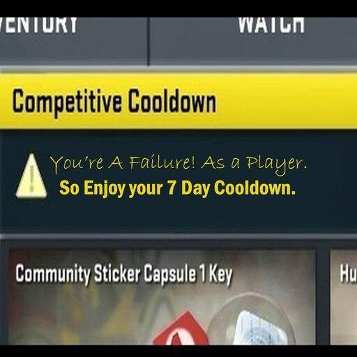 cs go competitive cooldown list
