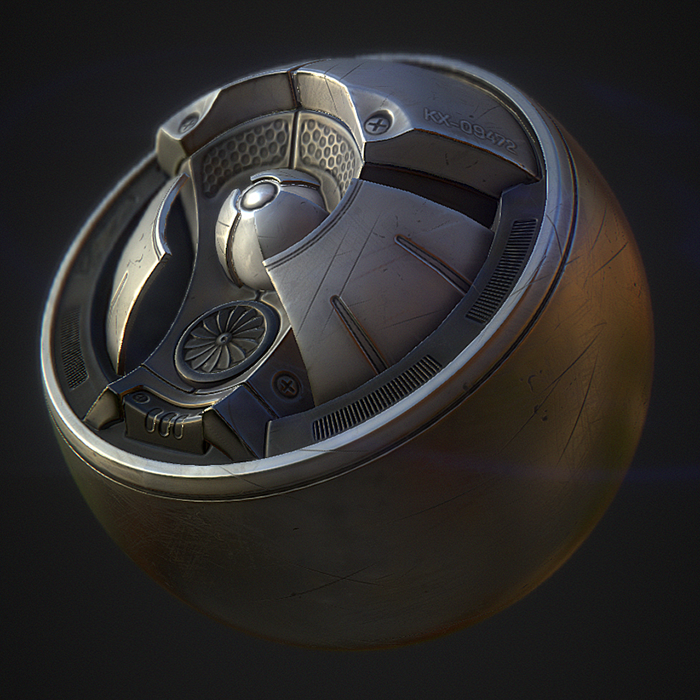 Comunidade Steam :: :: Gumroad shop: PBR Substance Material - Bare Metal