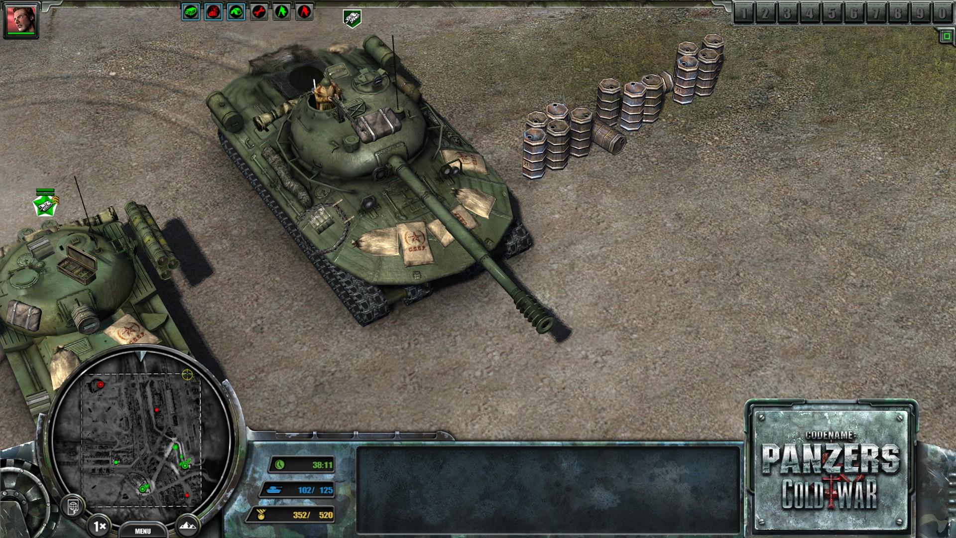 Panzers Cold War Ключ