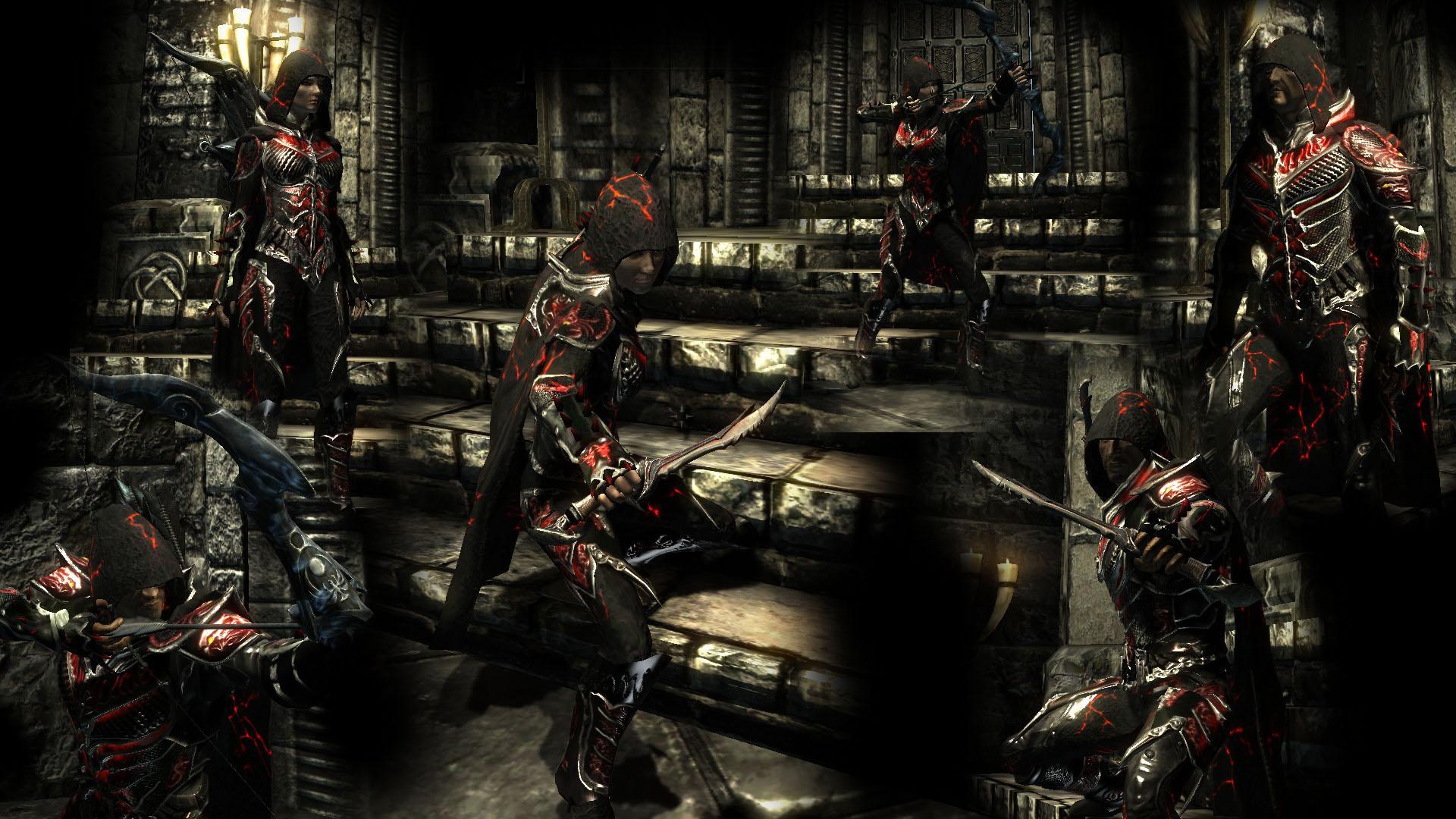 Steam Workshop :: Daedric Assassin light armor