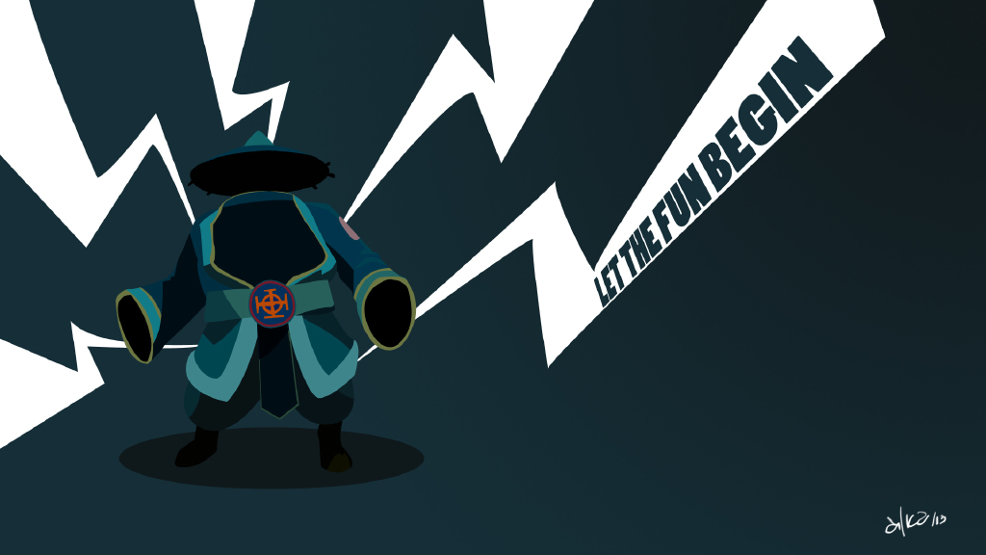Storm Spirit Wallpaper Dark Dota 2