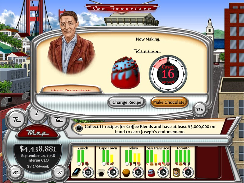 Chocolatier: Decadence by Design Cheats, Codes, and ...