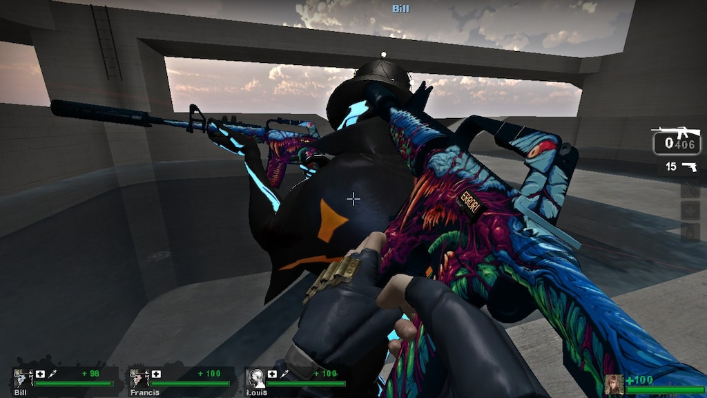 Steam Community :: Screenshot :: M4A1-S Hyperbeast in Left 4