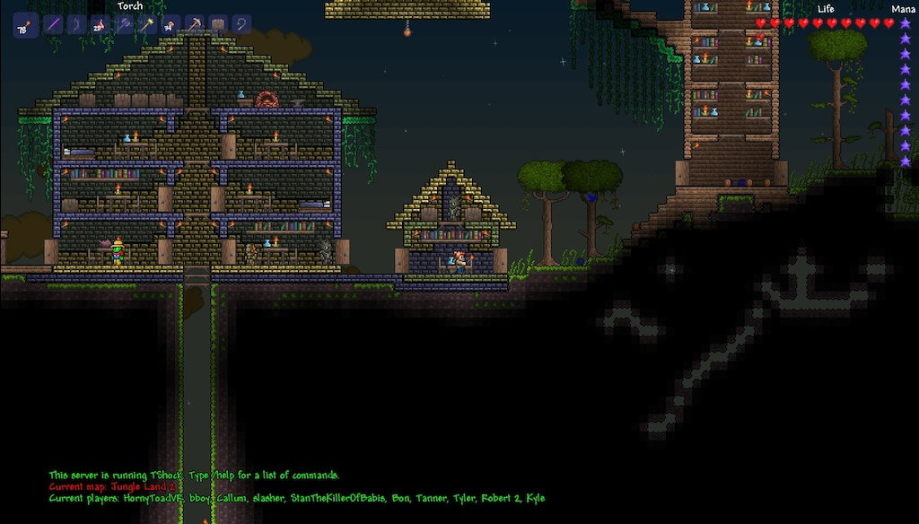Steam Community Screenshot An Epic Terraria Server Spawn