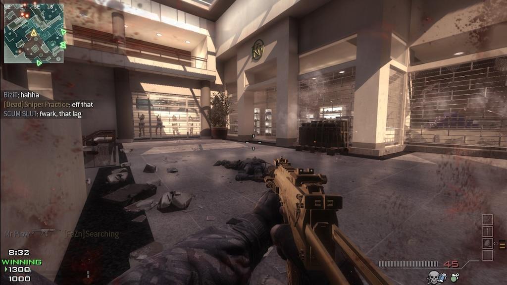 Steam Community :: Screenshot :: My gold Mp7 again, it's sexy