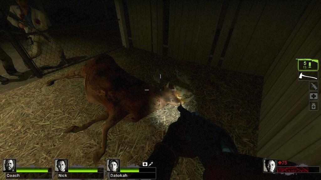 Steam Community :: Screenshot :: A dead cow in L4D2