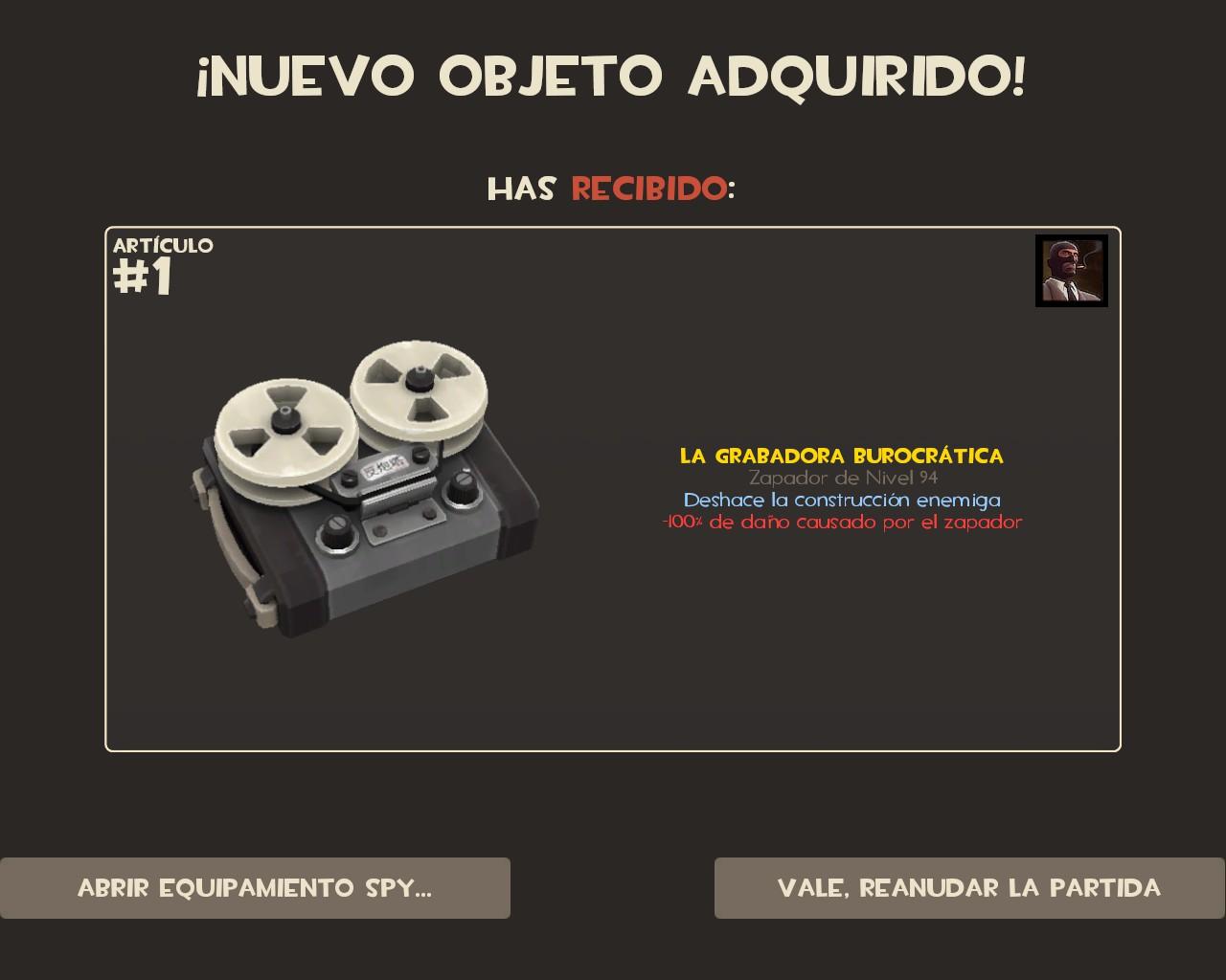 Steam Community :: Screenshot :: La grabadora burocrática
