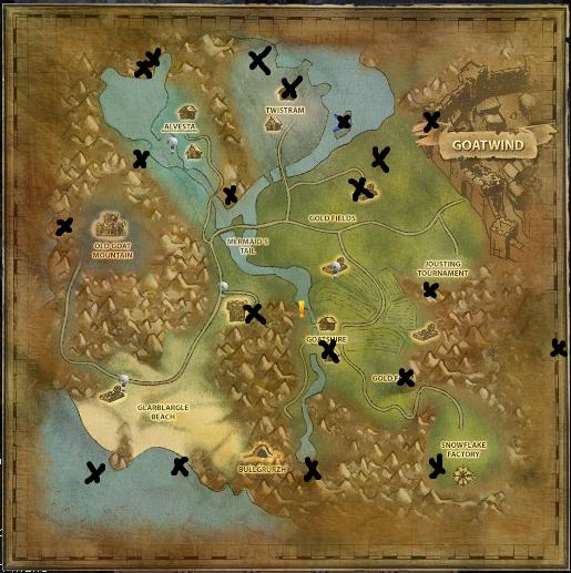 Secret Places Goat Simulator: Steam Community :: Guide :: Goat MMO Trophies Location
