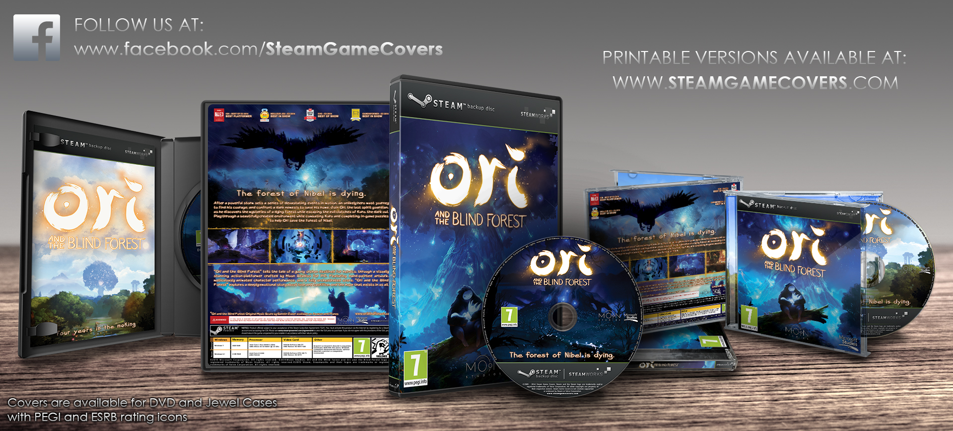 photo about Game Covers Printable identified as Steam Nearby :: :: Backup Video game Include