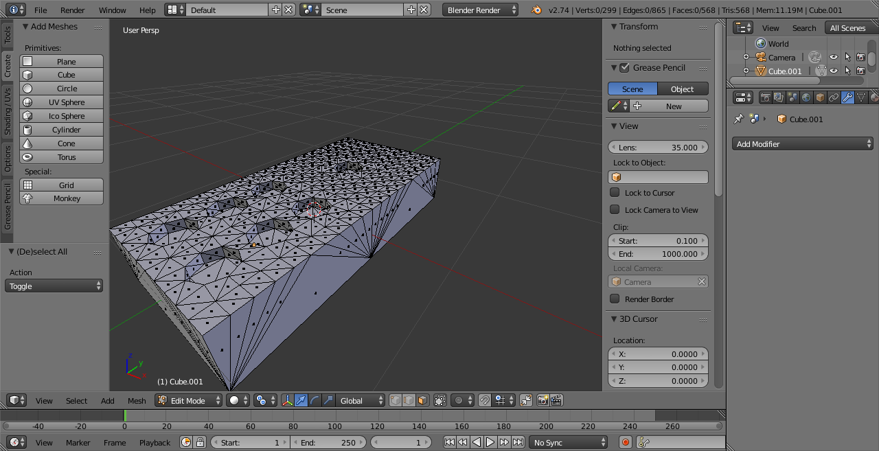 how to add a blender file into another