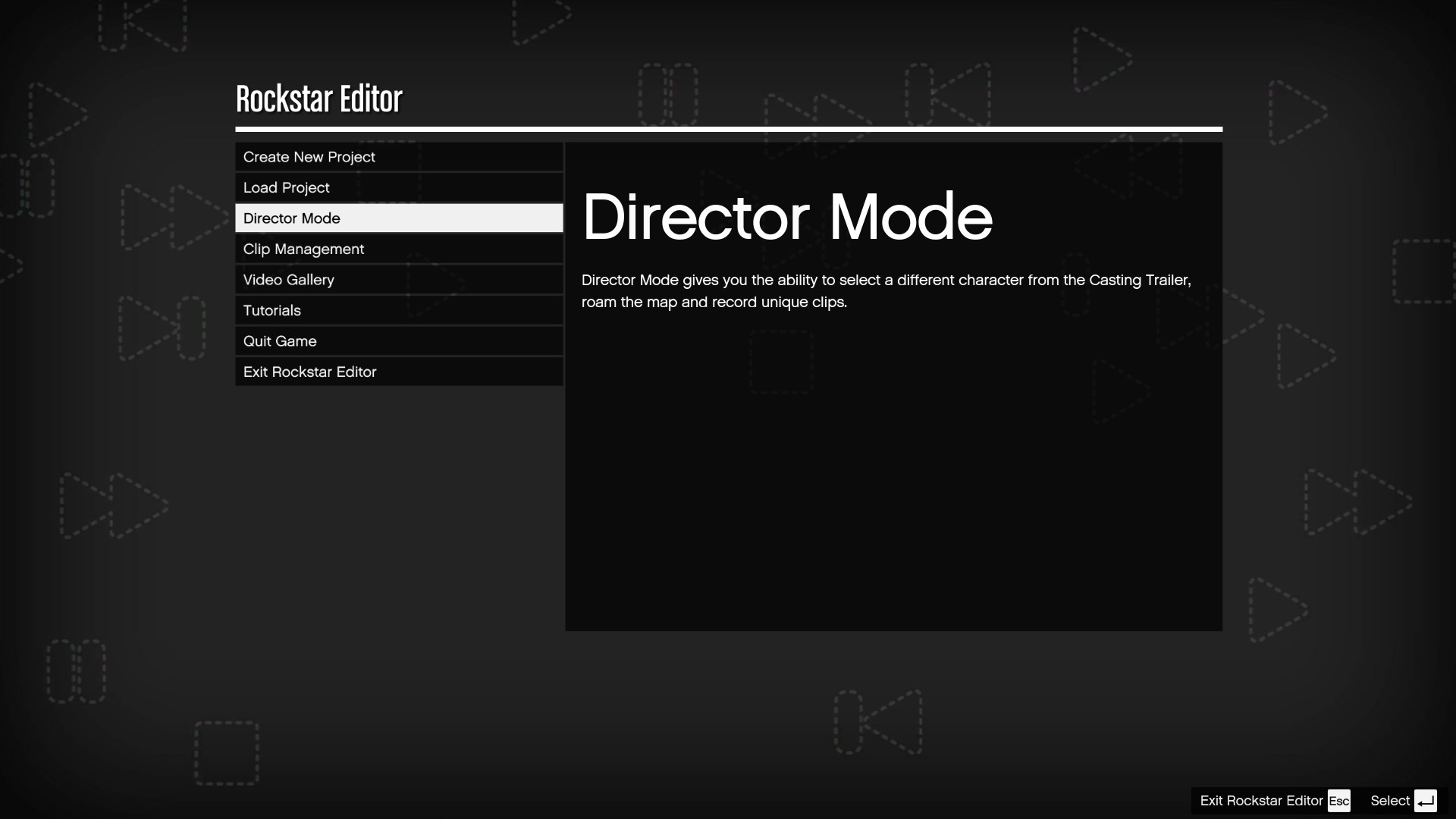gta 5 director mode secret characters