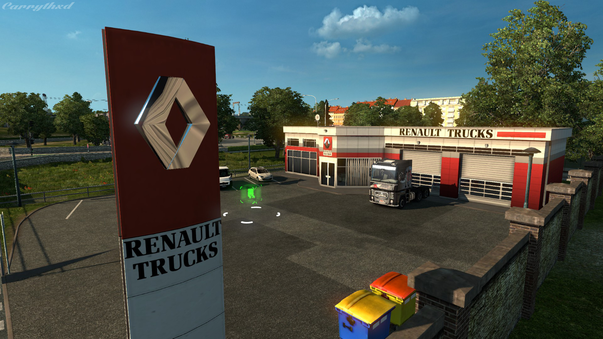 Steam community guide truck dealer locations for Mercedes benz dealer locations