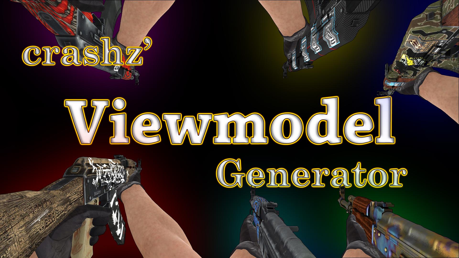 Steam Workshop :: crashz' Viewmodel Generator