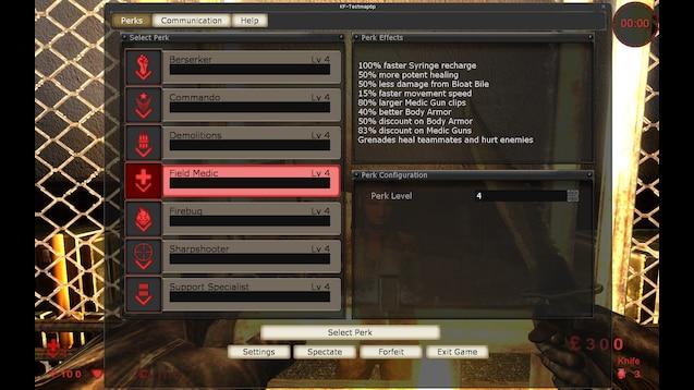 Steam Workshop Minimalist Server Perks
