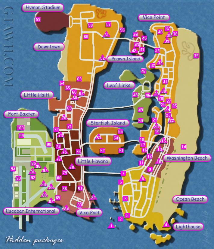 Vice City Map Properties Steam Community :: Gui...
