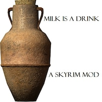 Milk is a Drink (Skyui compatibility fix for jug of milk)画像