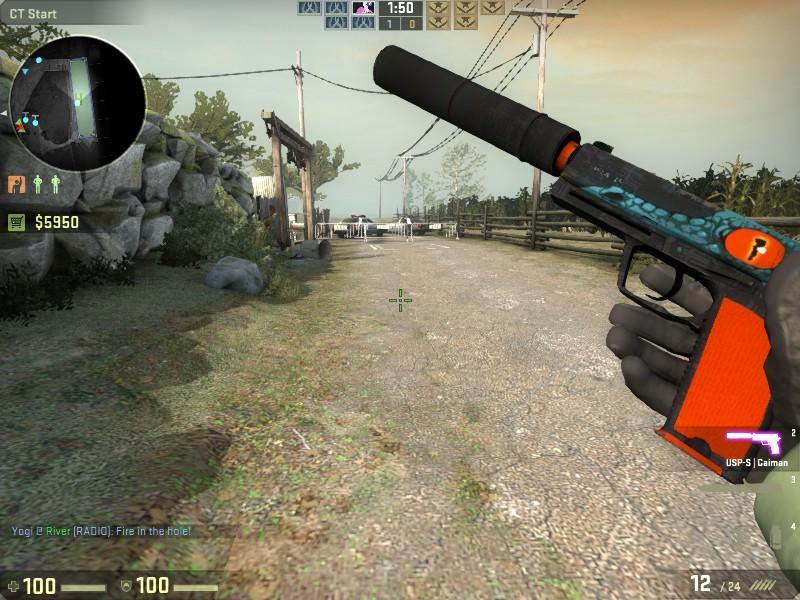 steam community screenshot my first csgo weapon skin usp s caiman