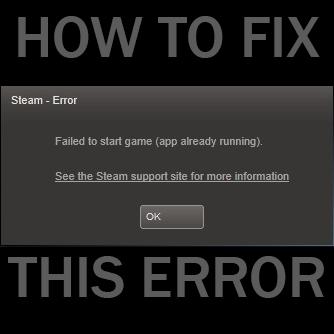running steam game still