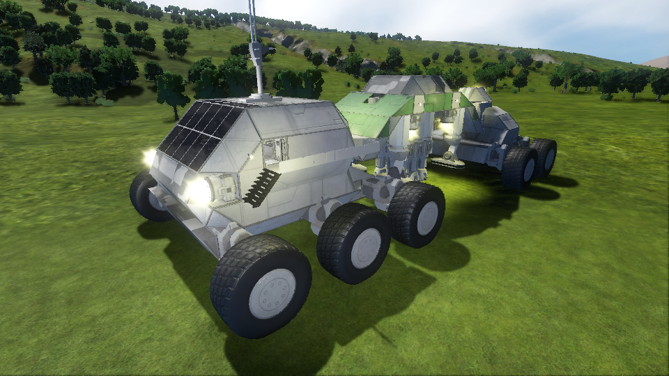 Large Mining Rover