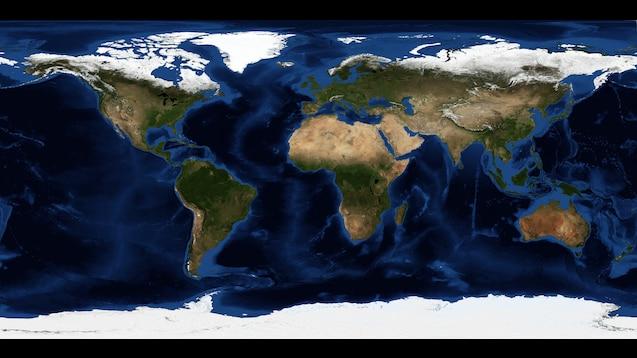 Steam Workshop Realistic World Map V1 255x255
