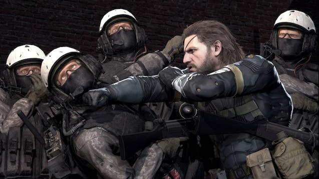 Steam Workshop Metal Gear Solid 5 Ground Zeroes Big Boss