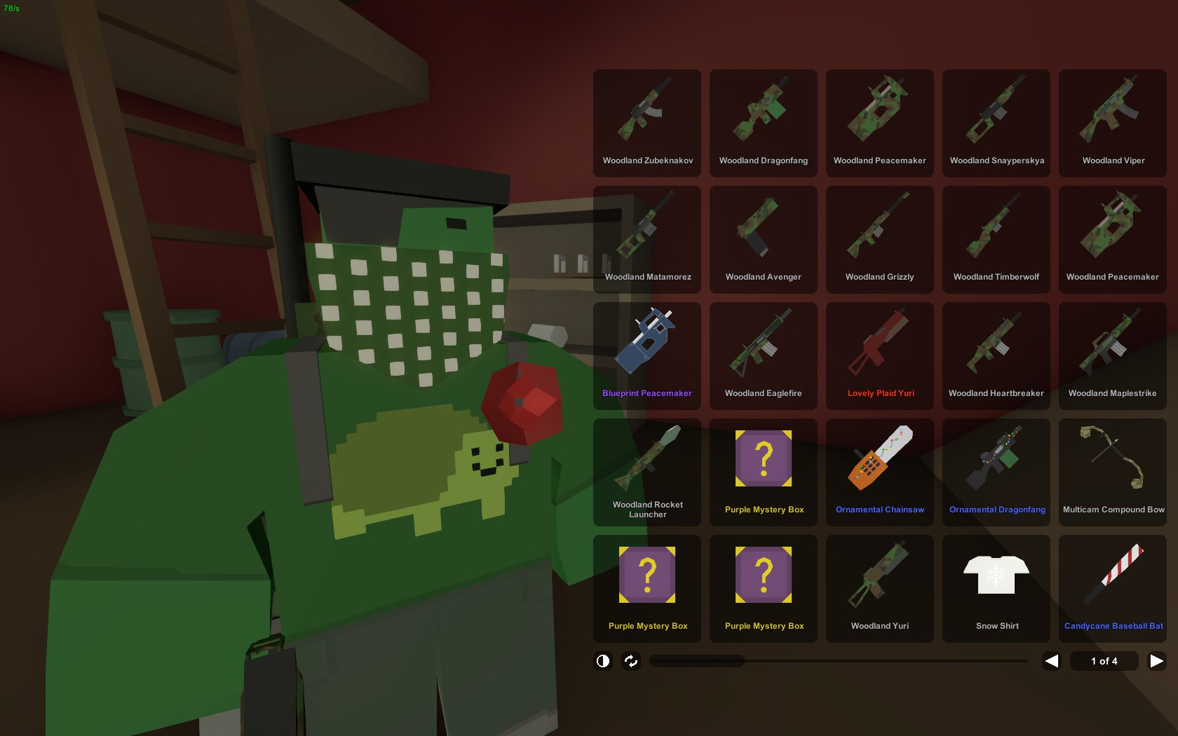 how to keep your inventory in unturned