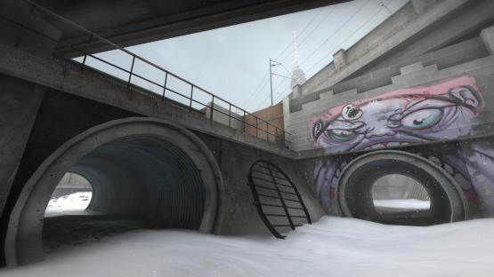 Overpass Winter