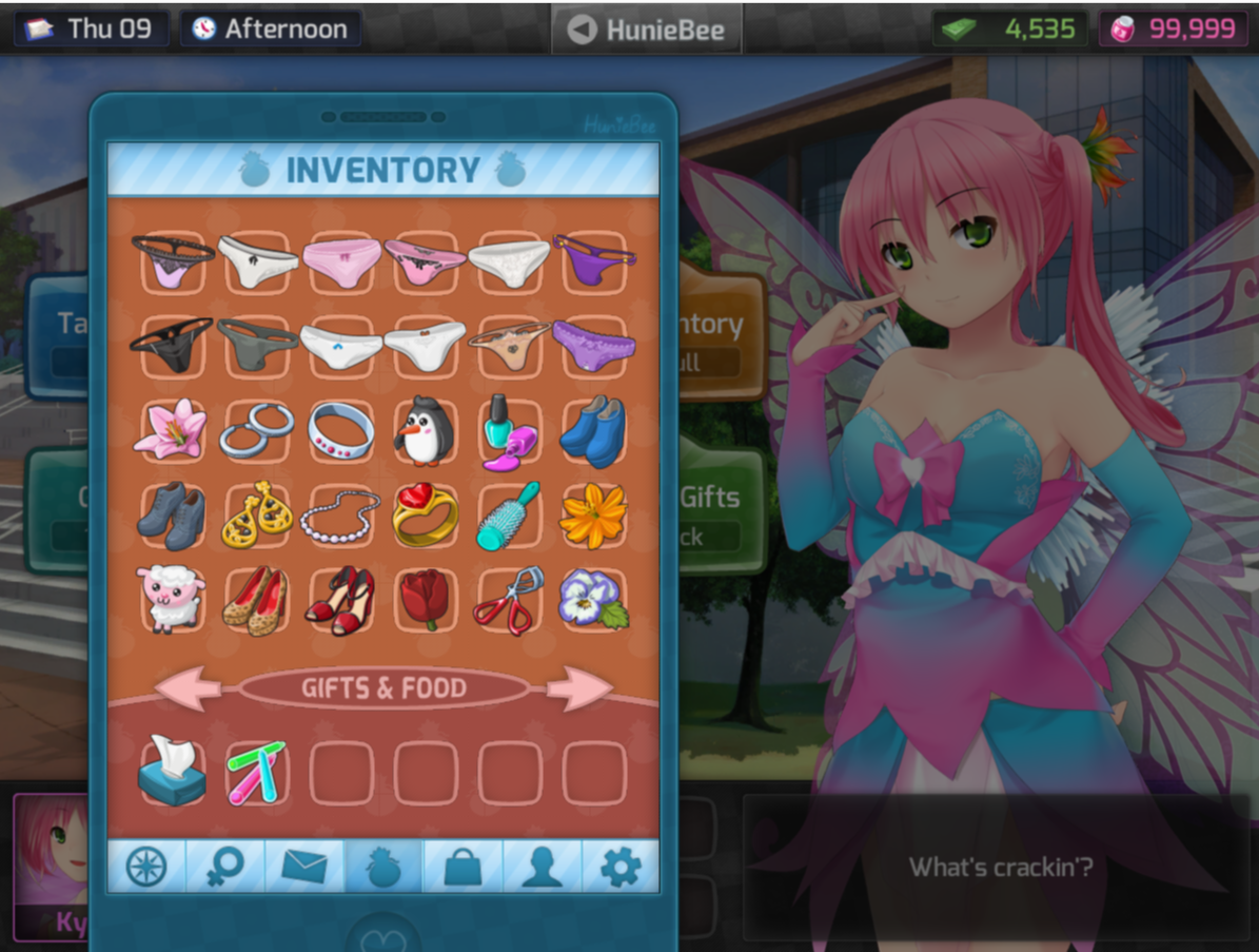Huniepop all character endings not absolutely
