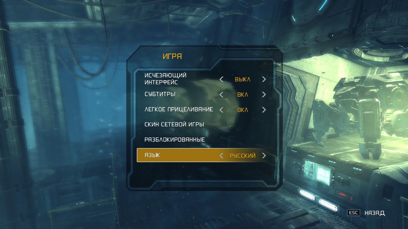 Язык интерфейса в игре что это