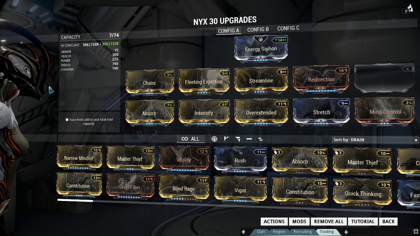 Perfect Build Paris Warframe