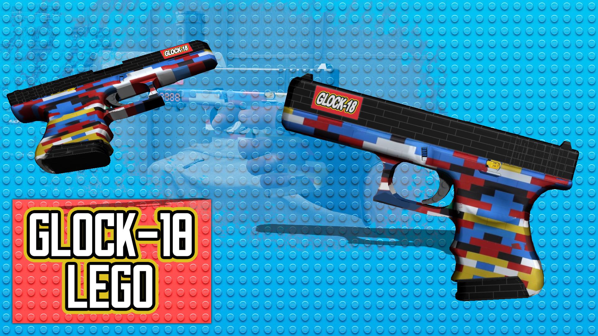 Steam Workshop Glock 18 Lego