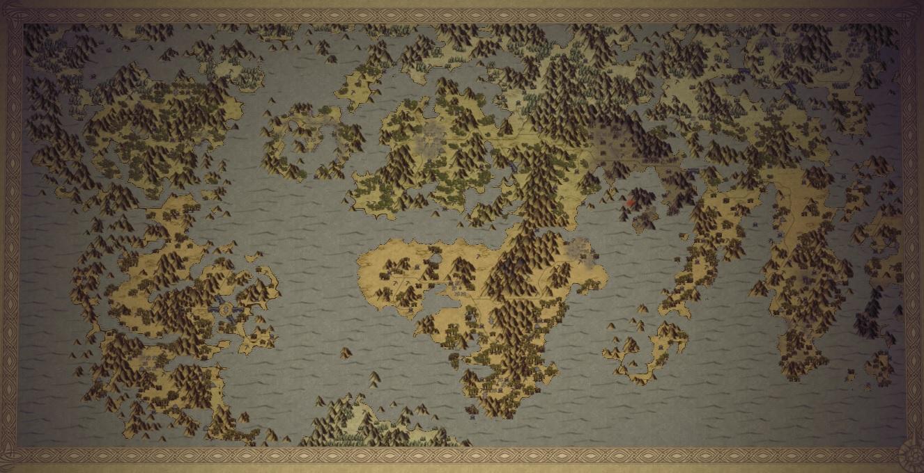 Steam Workshop World Of Warhammer Fantasy World Map