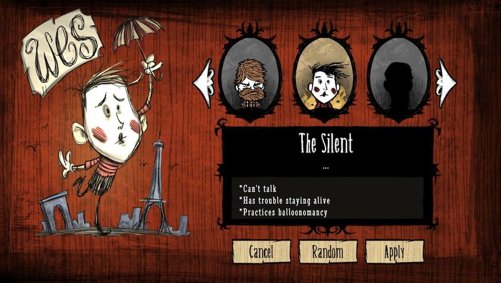 Steam Community :: Screenshot :: Don't Starve: finally unlocked the clown.