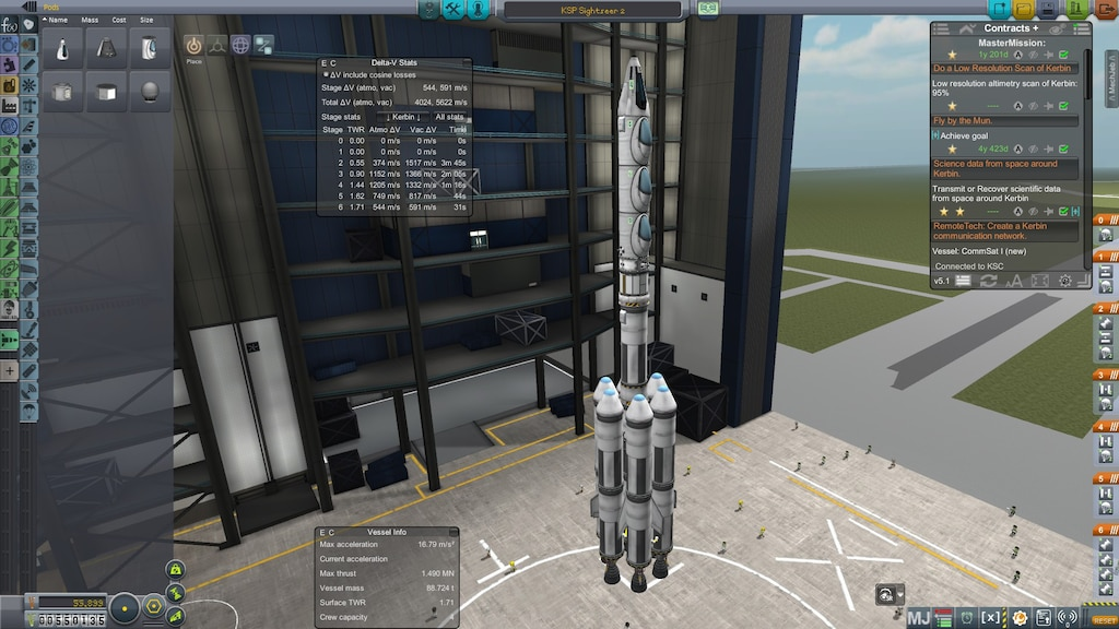 Steam Community :: Screenshot :: Welcome aboard the KSP Mun and