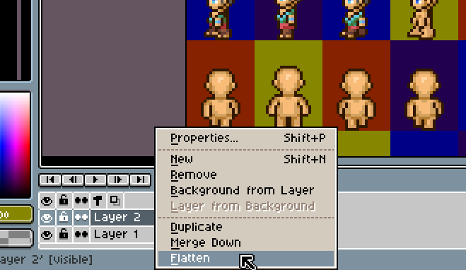 Steam Community :: Guide :: Using Aseprite to make sprites for