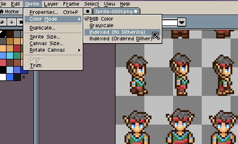 Steam Community :: Guide :: Using Aseprite to make sprites